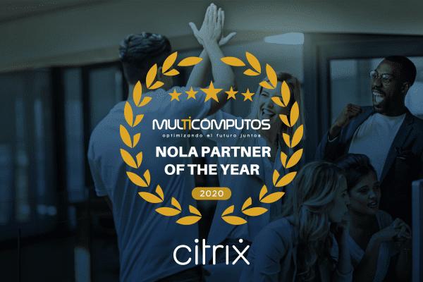 """Por segunda vez consecutivo somos """"Partner del año"""" de la región NOLA"""