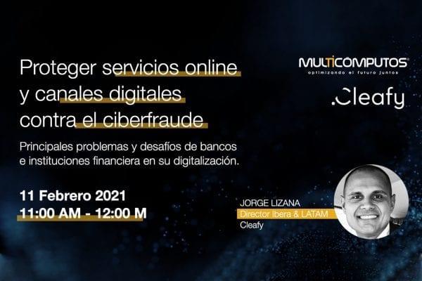 Webinar Proteger servicios online y canales digitales contra el ciberfraude